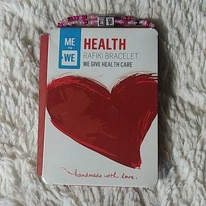 NWT Me to we healthcare bracelet
